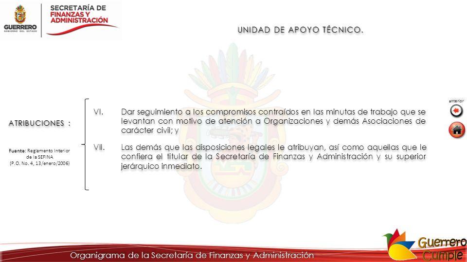 UNIDAD DE APOYO TÉCNICO.