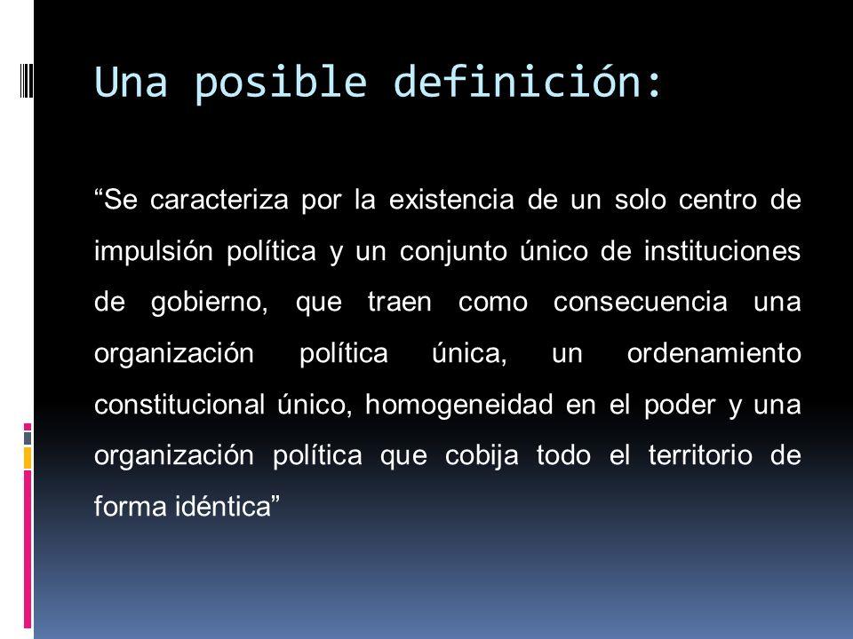 América Latina marcada por el modelo territorial unitario