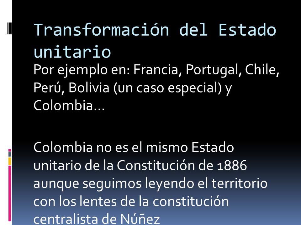 Fortalecimiento de los recursos territoriales Algunos espacios con regímenes territoriales sui generis….