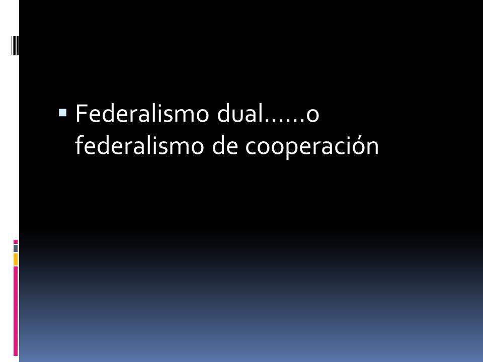 Diversas clases de federalismo un federalismo participativo para el Estado federal alemán; un federalismo unitario, para el caso del sistema federal a