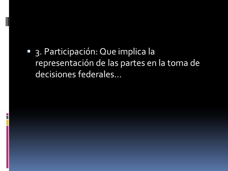 2. Autonomía: Que se traduce en autonomía e incluso soberanía de cada parte o división subnacional en su ámbito competencial, lo que impide el ejercic