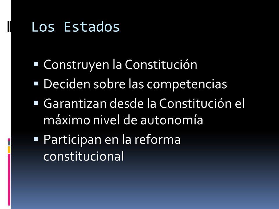 3. Participación: Que implica la representación de las partes en la toma de decisiones federales…