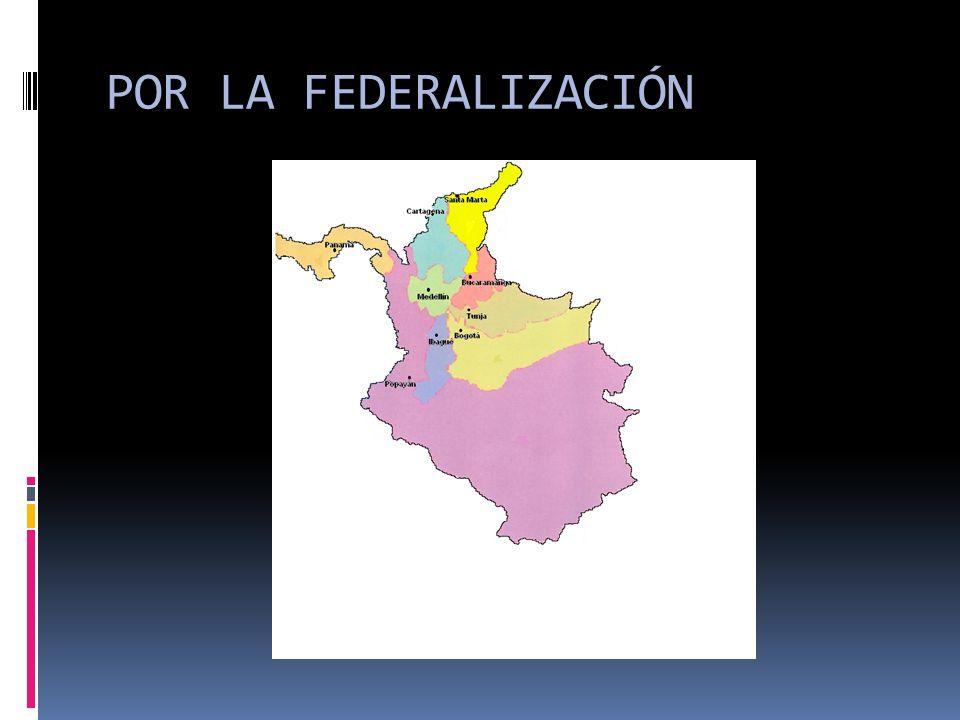 De abajo hacia arriba….. Pero también federalismos débiles….incluso se habla de Federalismos unitarios