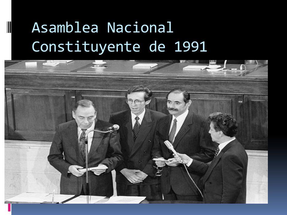 REFORMAS DURANTE LA DÉCADA DE LOS 80 Descentralización Fiscal Acto Legislativo No 1 de 1986: Elección Popular de Alcaldes.