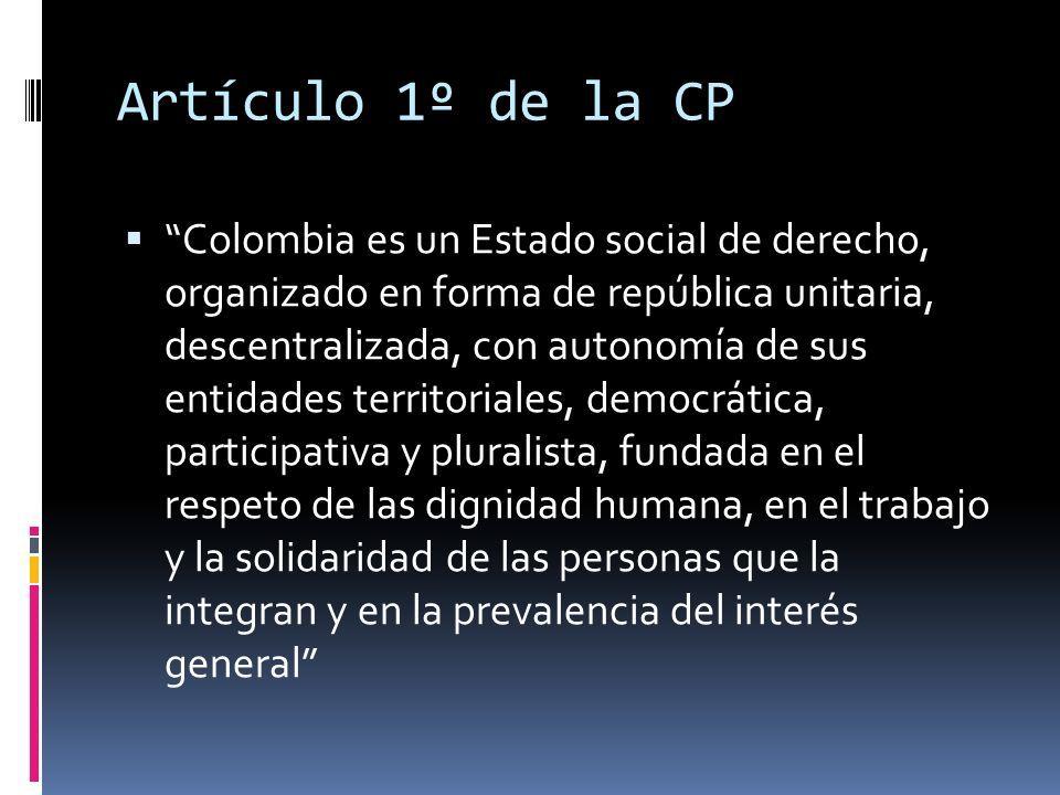 ¿Cómo quedó la Constitución territorial?