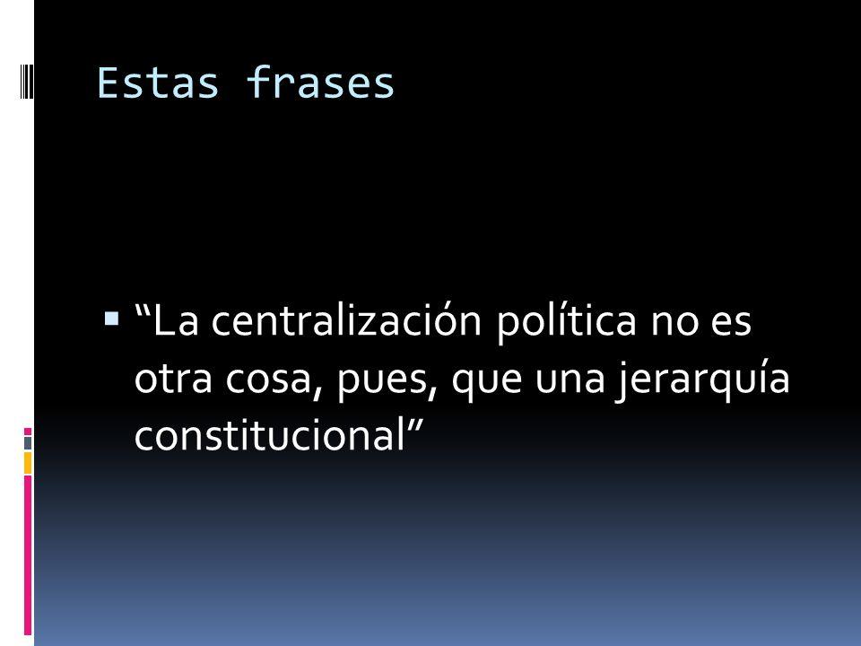 De la propia adopción de la forma unitaria por la Carta Política, una de cuyas primeras consecuencias es, como se ha dicho, la de la uniformidad legislativa en el ámbito nacional…