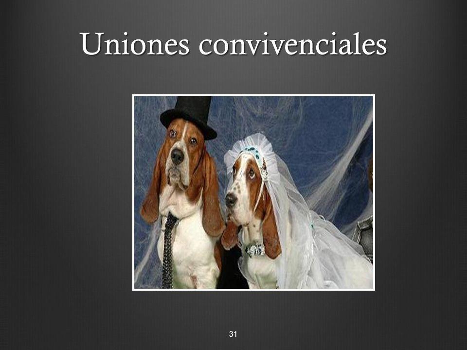 Uniones convivenciales 31