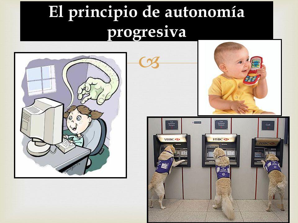 El principio de autonomía progresiva 55