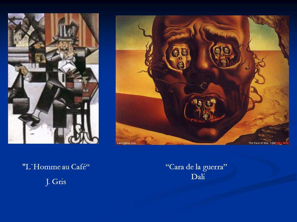 Cara de la guerra Dalí