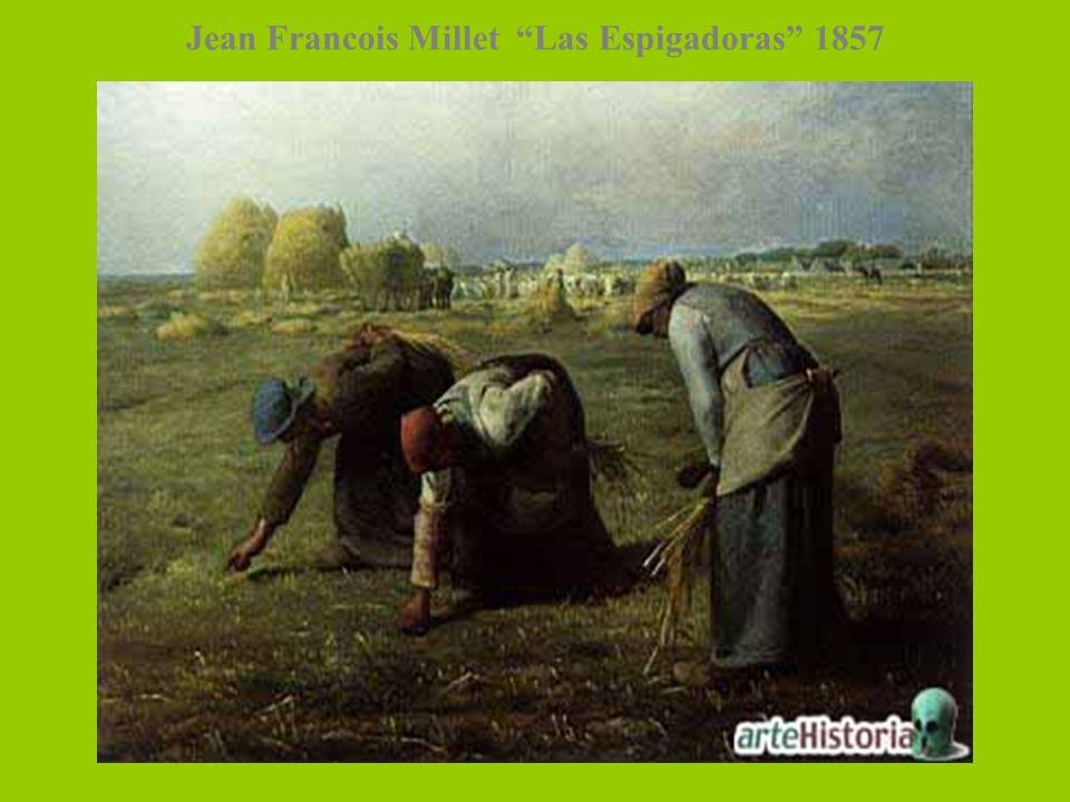 Jean Francois Millet Las Espigadoras 1857