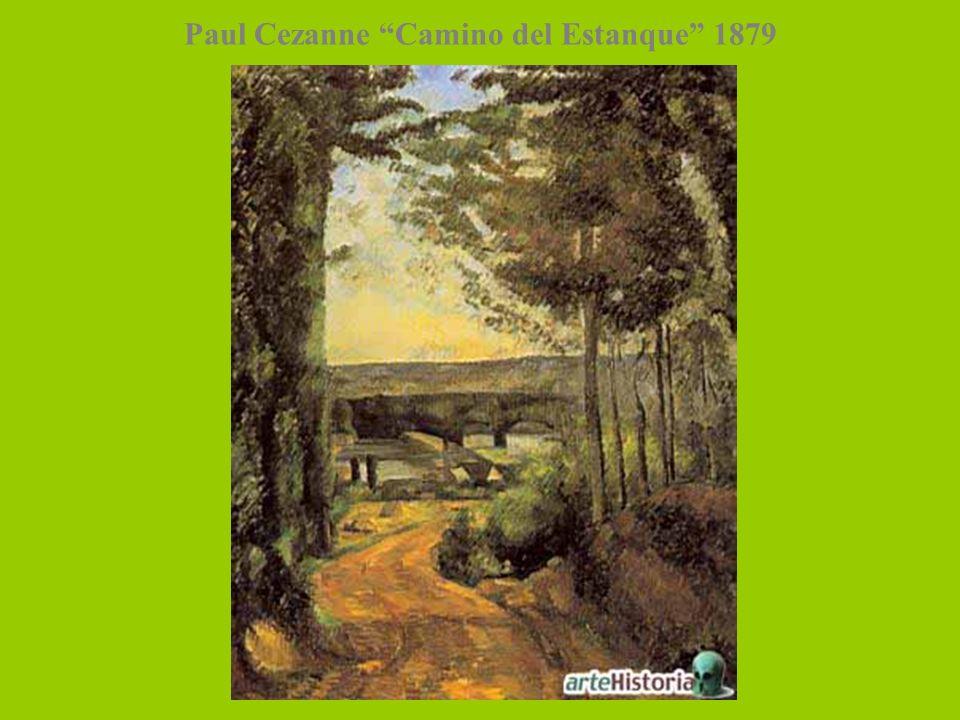 Paul Cezanne Camino del Estanque 1879