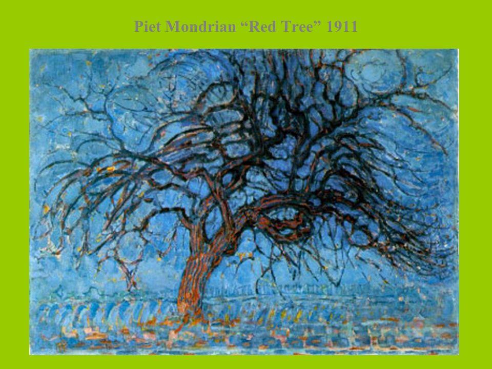 Piet Mondrian Red Tree 1911