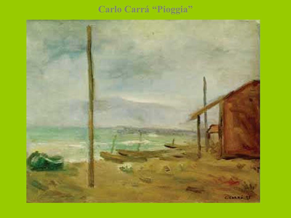 Carlo Carrá Pioggia