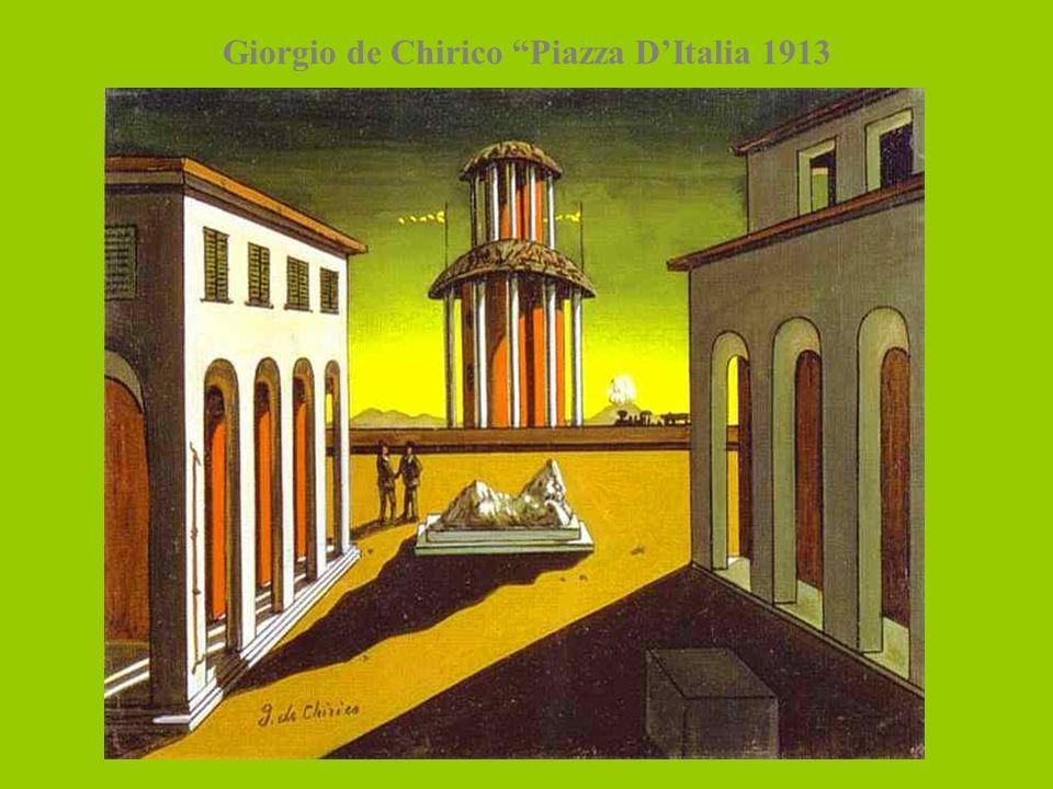 Giorgio de Chirico Piazza DItalia 1913