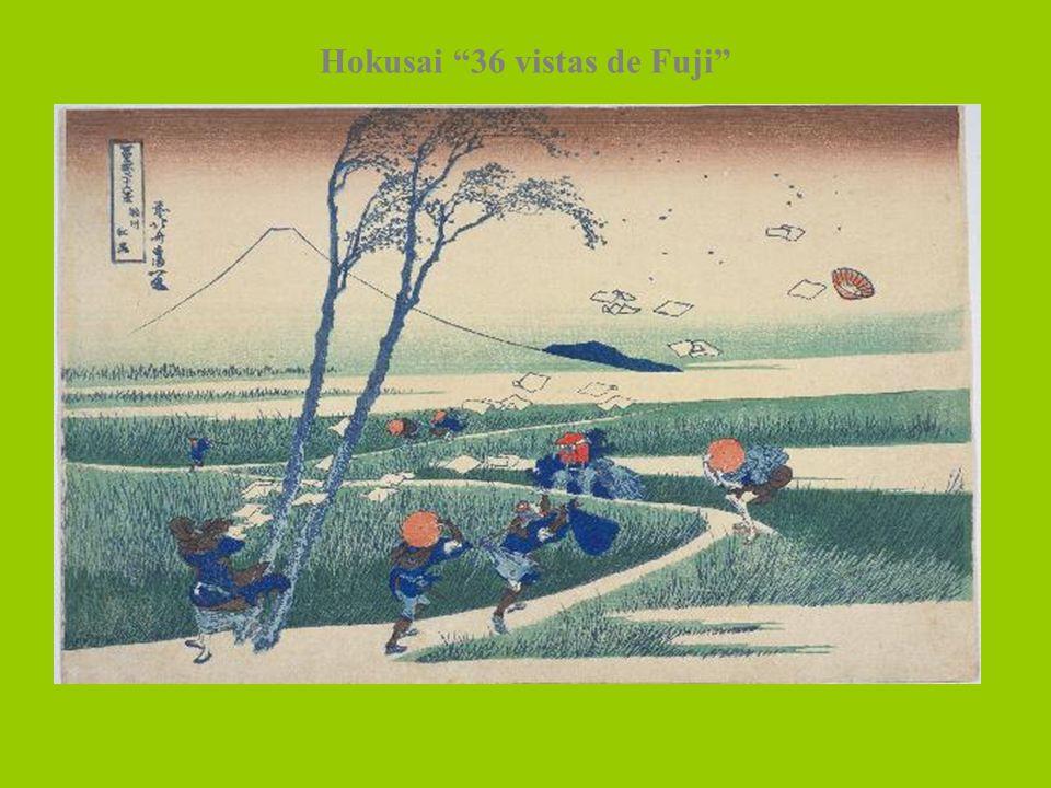 Hokusai 36 vistas de Fuji