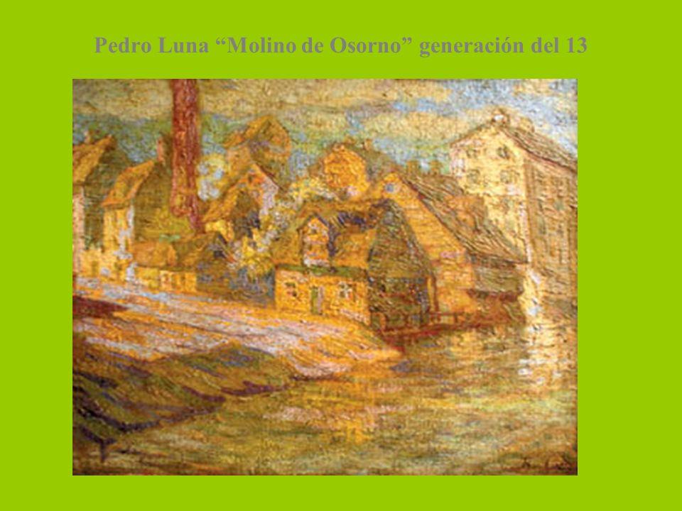 Pedro Luna Molino de Osorno generación del 13