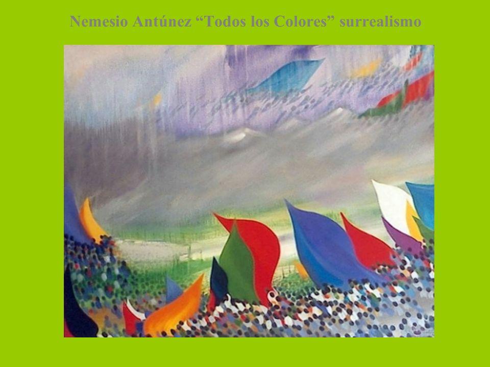 Nemesio Antúnez Todos los Colores surrealismo