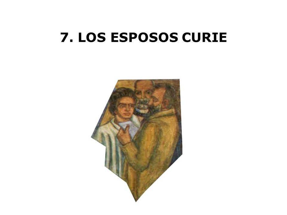 7. LOS ESPOSOS CURIE