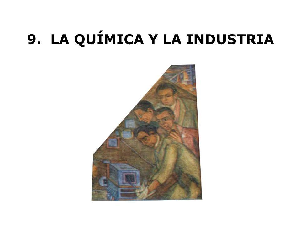 9. LA QUÍMICA Y LA INDUSTRIA
