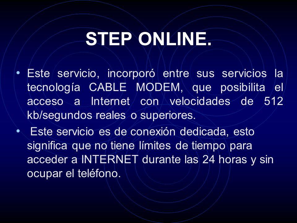 STEP ONLINE.
