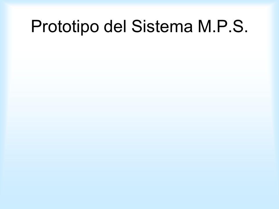 Prototipo del Sistema M.P.S.
