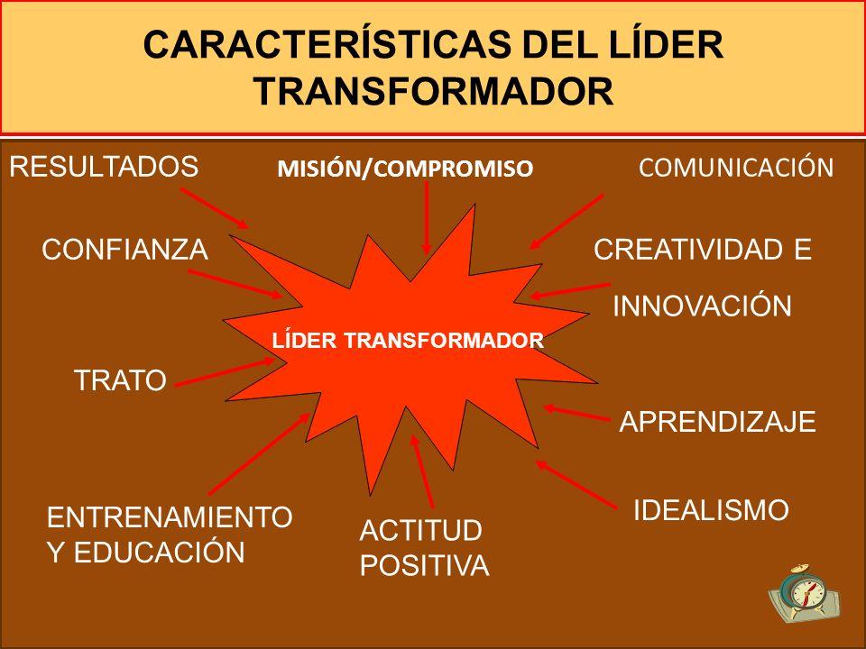 La misión del liderazgo consiste en: Transformar una organización impersonalizada para hacer que las personas se sientan comprometidas a alcanzar sus
