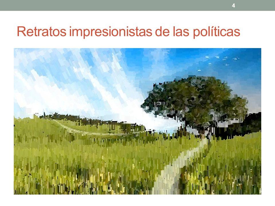 4 Retratos impresionistas de las políticas