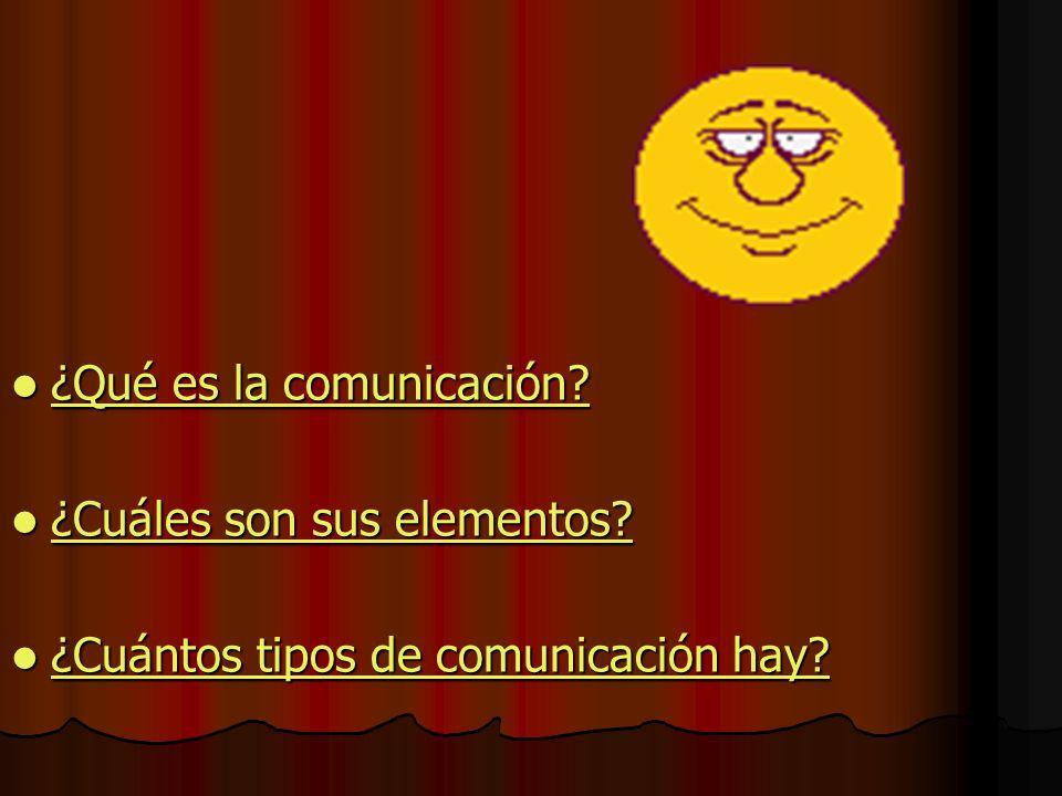 ¿Qué es la comunicación.¿Qué es la comunicación. ¿Qué es la comunicación.