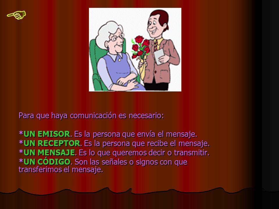 La comunicación puede ser: *VERBAL: VERBAL: -Oral-Escrita *NO VERBAL: NO VERBAL:NO VERBAL:-Gestual -Señales: Visuales, auditivas…