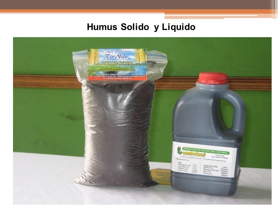 Humus Solido y Liquido