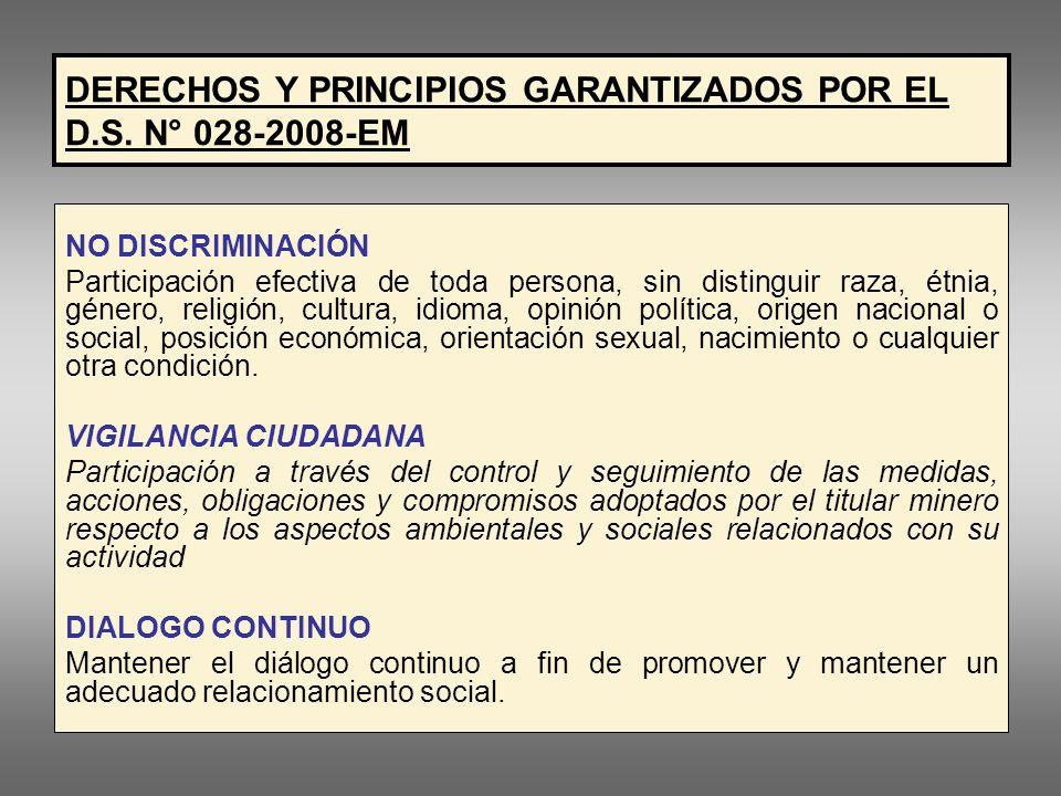 LEY GENERAL DEL AMBIENTE Ley N° 28611 La participación ciudadana puede adoptar las formas siguientes: a.