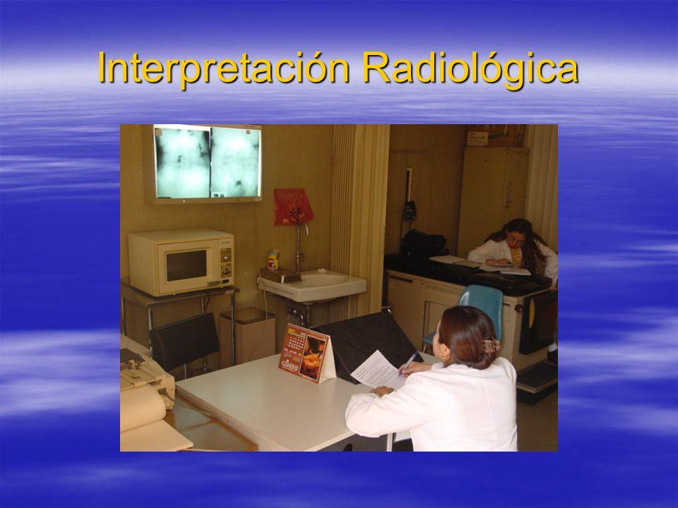 Interpretación Radiológica