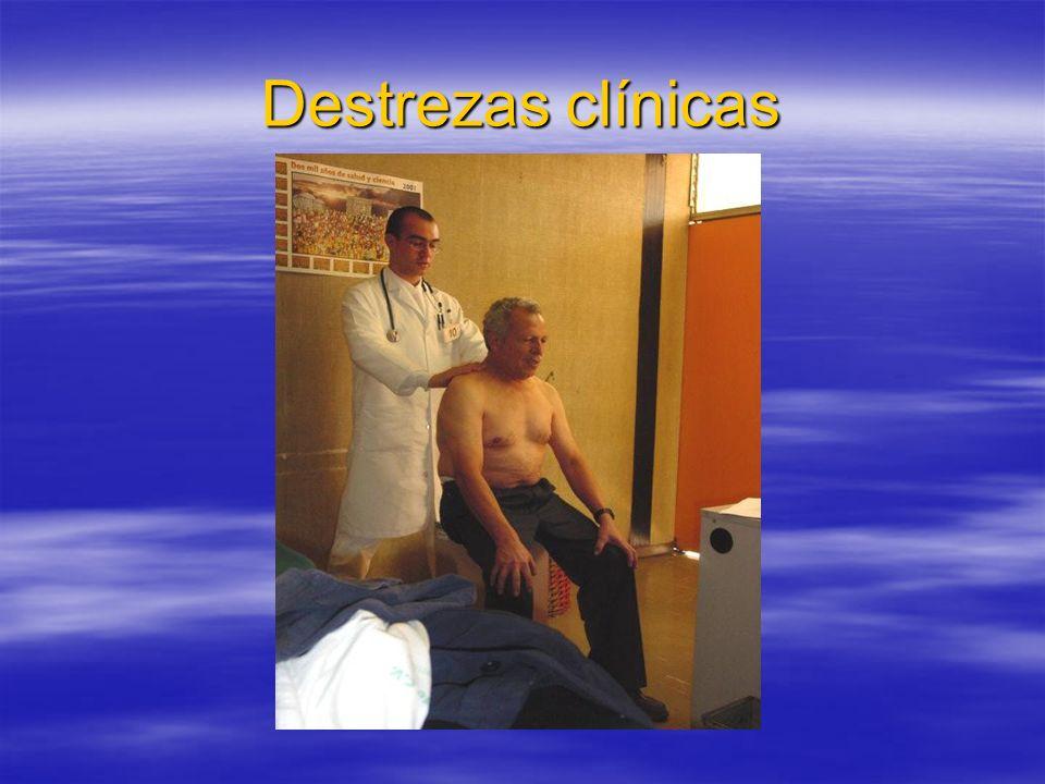 Destrezas clínicas