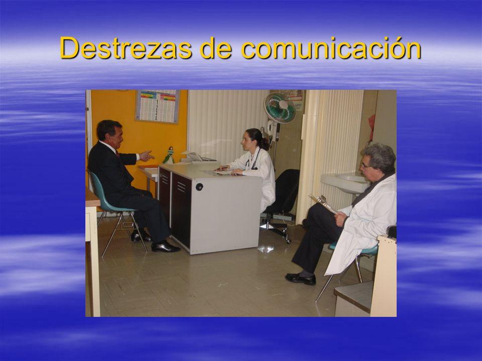 Destrezas de comunicación