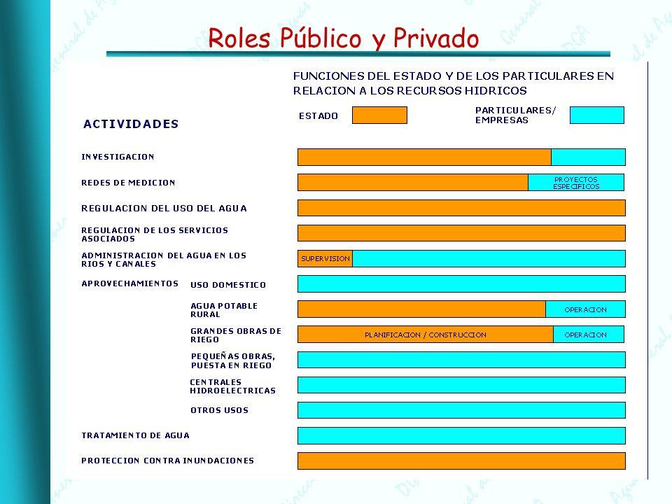 Los desafíos de la coordinación sectorial: Antecedentes Política Nacional de Recursos Hídricos, 1999.