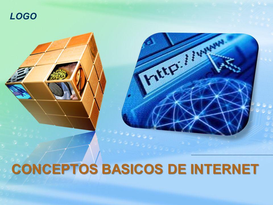LOGO CONCEPTOS BASICOS DE INTERNET