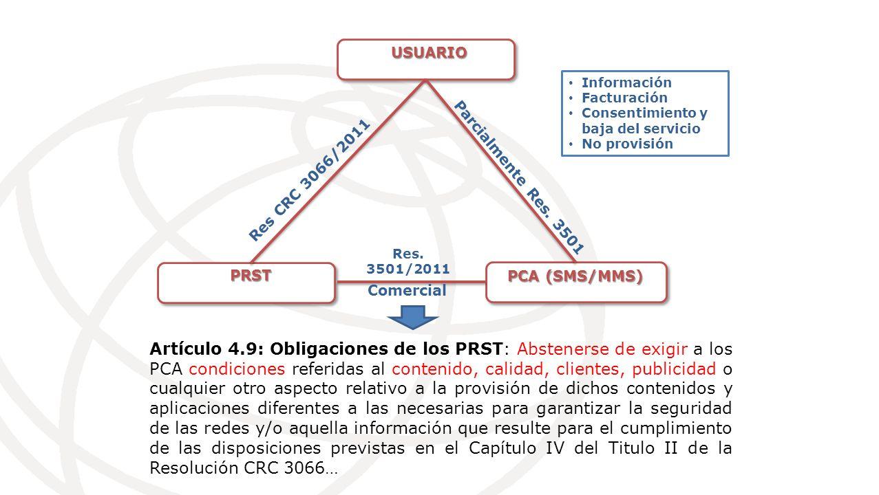 USUARIO PRST PCA (SMS/MMS) Res CRC 3066/2011 Parcialmente Res.