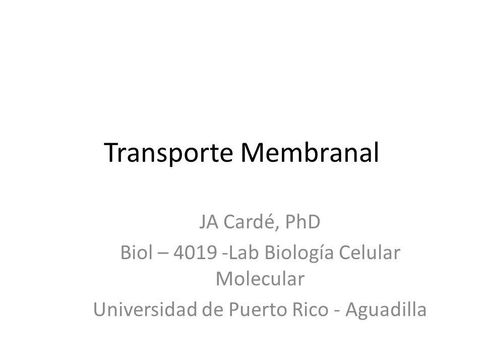 Objetivos Distinguir los componentes de la membrana plasmática.