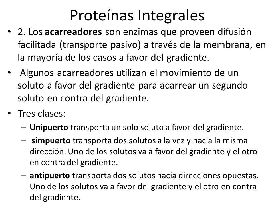 Proteínas Integrales 3.