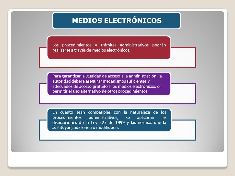 MEDIOS ELECTRÓNICOS