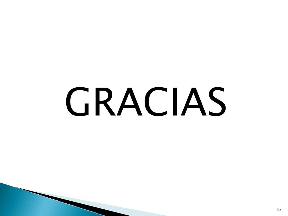 GRACIAS 65