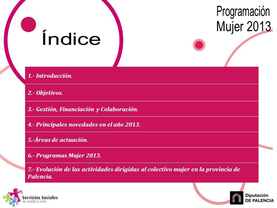 1.- Introducción. 2.- Objetivos. 3.- Gestión, Financiación y Colaboración.
