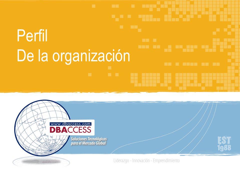 Agenda Nosotros Nuestra misión Organización en Red, Orientada a Servicios Centro de Desarrollo de Soluciones (CDS) Ventajas del CDS Innovación y Tecnologías aliadas DBAccess: Calidad Certificada Clientes globales ¡Logros recientes.