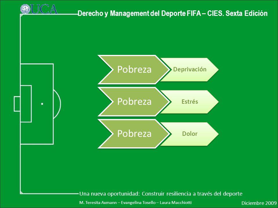 Derecho y Management del Deporte FIFA – CIES.Sexta Edición Diciembre 2009 M.