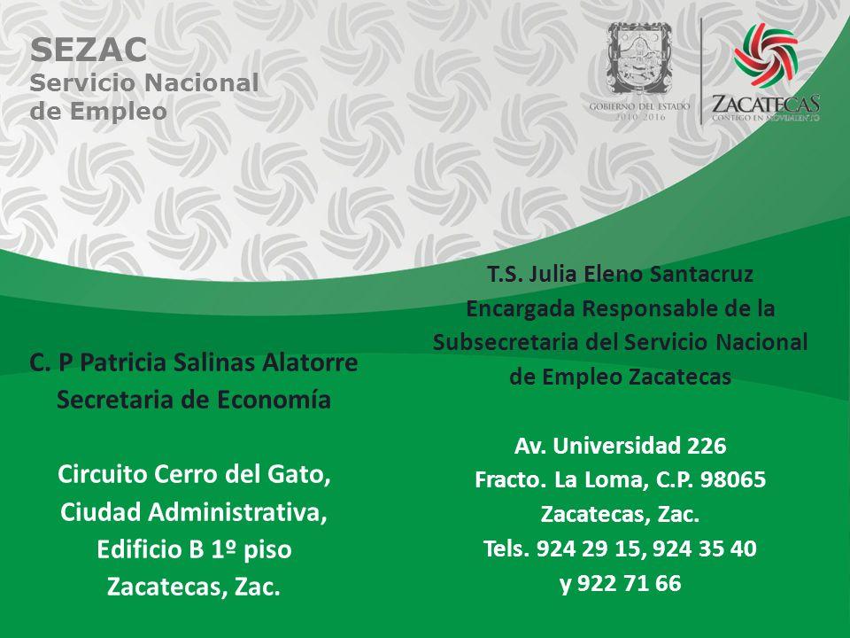 SEZAC Servicio Nacional de Empleo C.