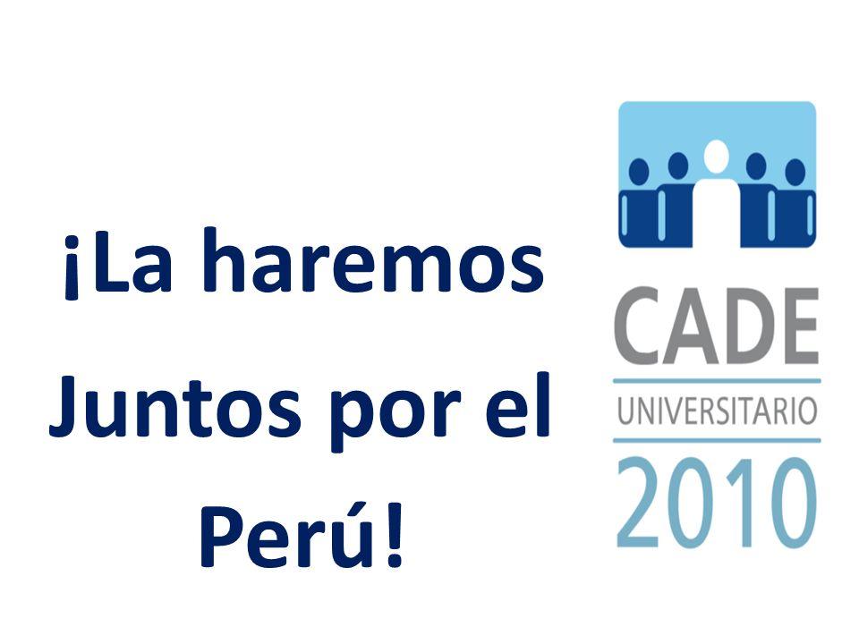 ¡La haremos Juntos por el Perú!