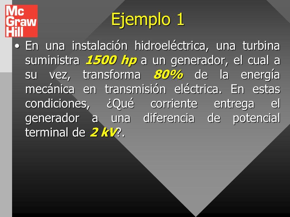 Potencia entrada en una fuente generadora de fem. En lugar de que el agente que genera la fuerza no electrostática de la fuente de fem superior realic