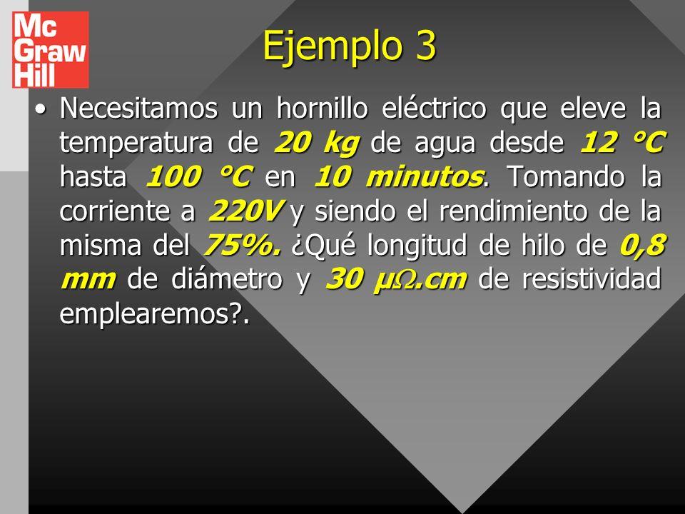 Ejemplo 2 Suponga que una oscilación de voltaje produce durante un momento 140 V. ¿En qué porcentaje se incrementa la salida de energía de una bombill