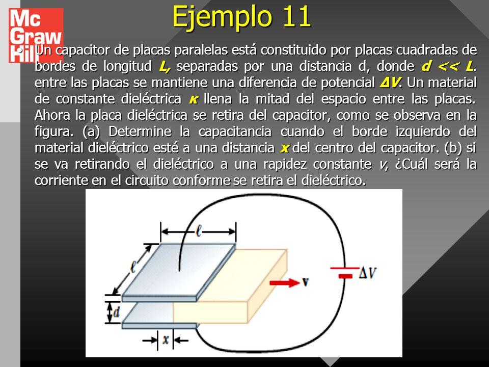 Ejemplo 10 Un material de resistividad ρ se modela como un cono truncado de altura h como se muestra en la figura. El extremo inferior tiene un radio
