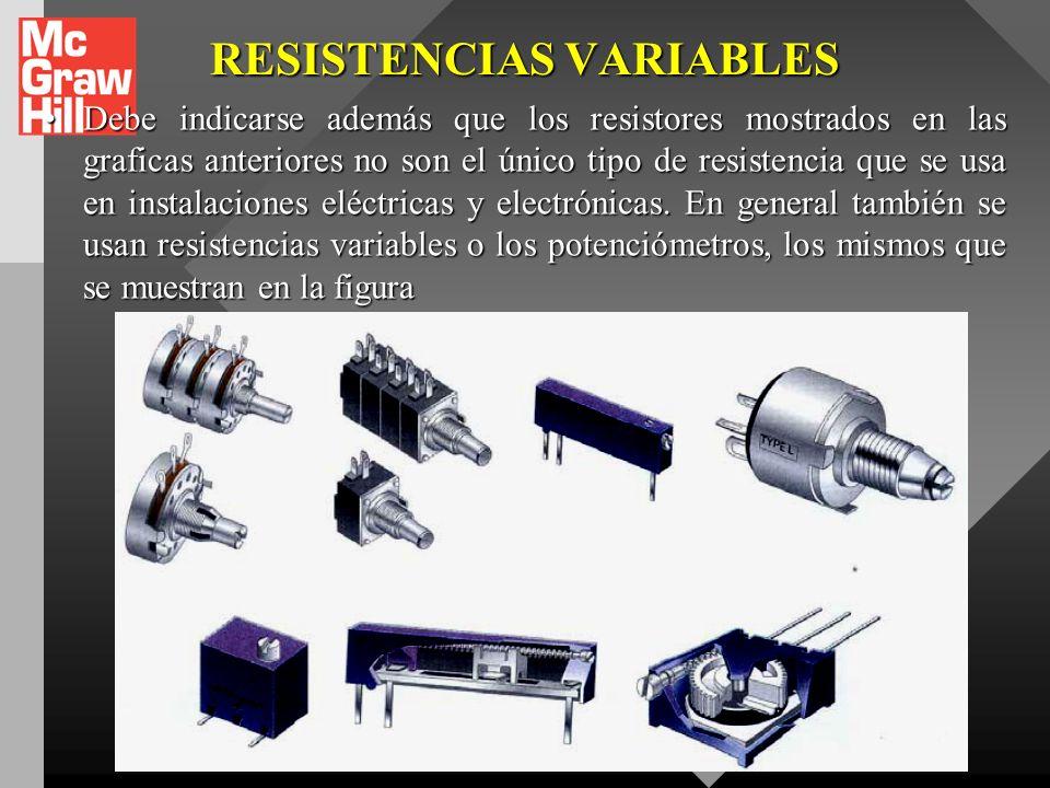 RESISTENCIA EN CIRCUITOS Tabla II. Código de colores para resistenciasTabla II. Código de colores para resistencias